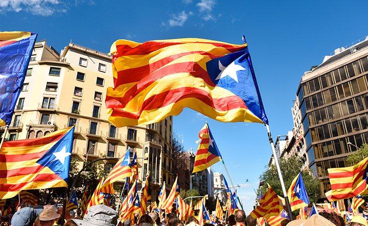 El espía habría viajado a Barcelona durante el referéndum