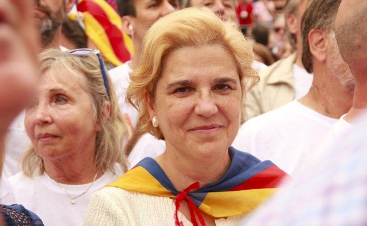 Pilar Rahola siempre ha mostrado un apoyo muy cerrado al independentismo