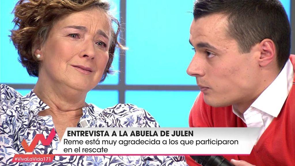 Reme se reencontró con José María Fernández, reportero del programa