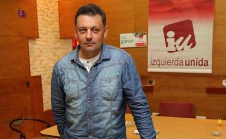 Javier Ardines, concejal de Izquierda Unida en Llanes (Asturias)