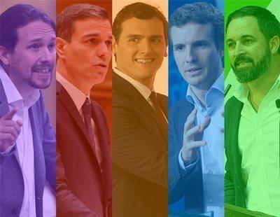 Vorágine electoral: así llegan los partidos a las elecciones del 28-A