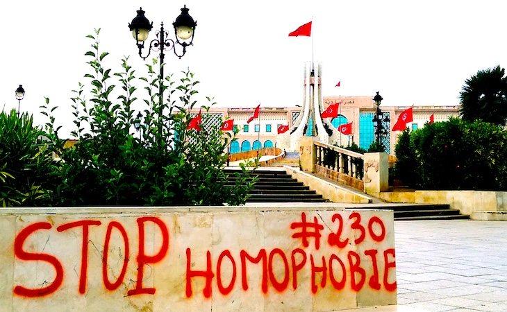 El artículo 230 establece que losactos homosexuales pueden ser sancionados con prisión
