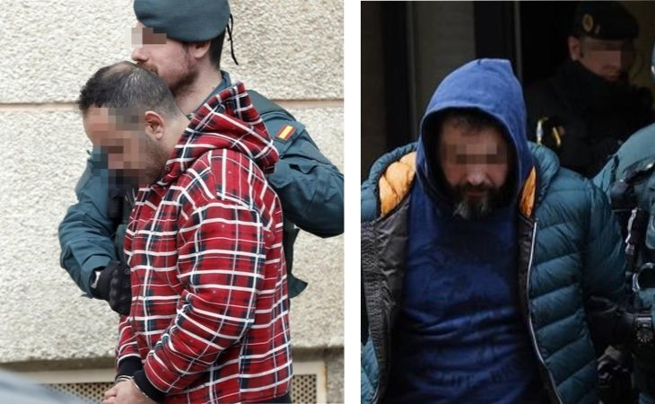 Los dos detenidos como supuestos sicarios del asesinato de Ardines