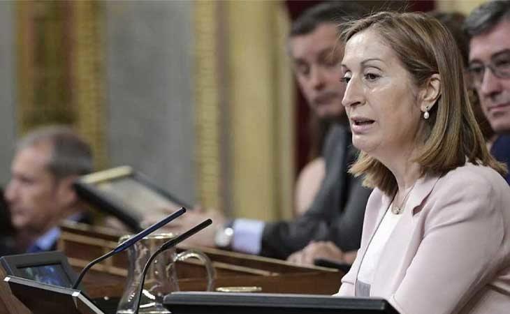 Ana Pastor, presidenta de la Mesa del Congreso