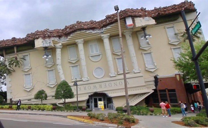 'Wonderworks' fue construido por el arquitecto Terry Nicholson
