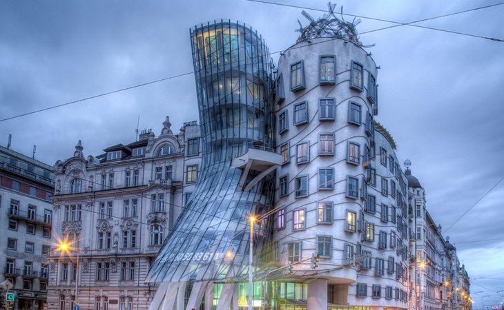 'La Casa Danzante es de los arquitectosVlado Milunic y Fran Gehry