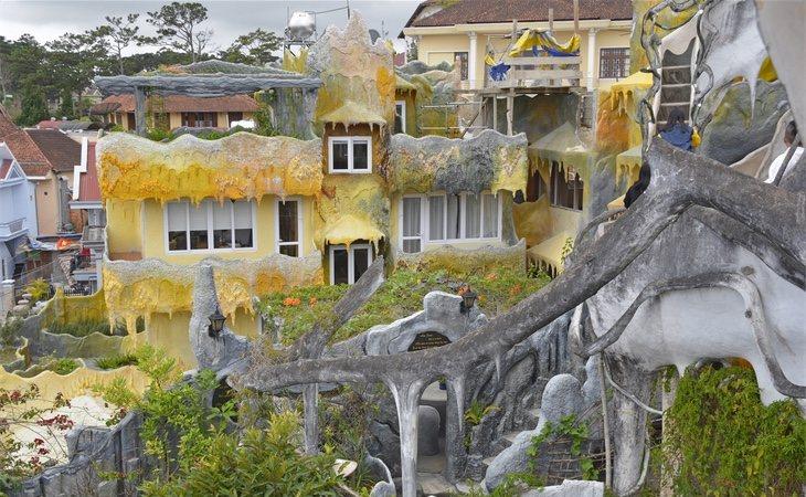 La casa de Huéspedes de Hang Nga es un hotel construido porDang Viet Nga