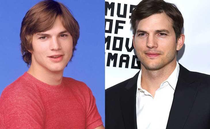 Ashton Kutcher fue Michael Kelso 'Aquellos maravillosos 70'