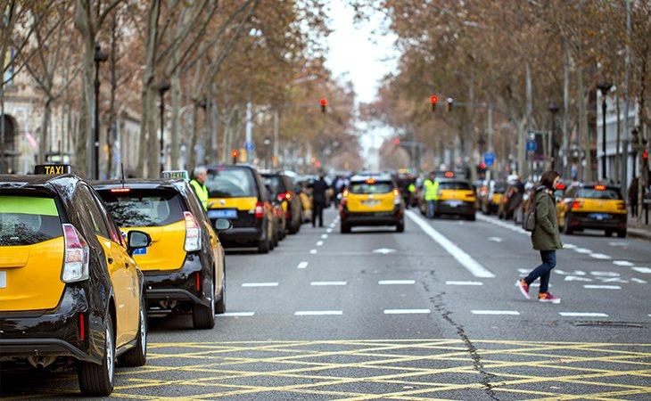 El decreto del Govern fue bien recibido por el sector del taxi