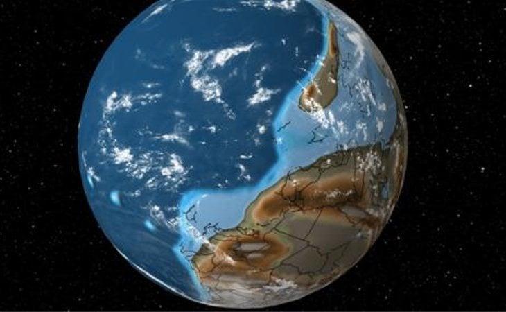 La Tierra hace 600 millones de años