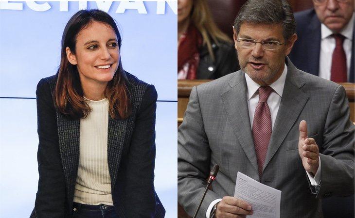 Andrea Levy y Rafael Catalá, dos de los autores de la nueva propuesta del PP