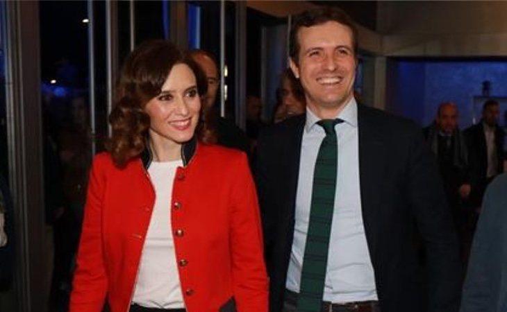 Díaz Ayuso no ha dudado en definir a Pablo Casado como un