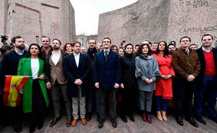 Casado ha cargado nuevamente contra Pedro Sánchez por su gestión de la crisis catalana