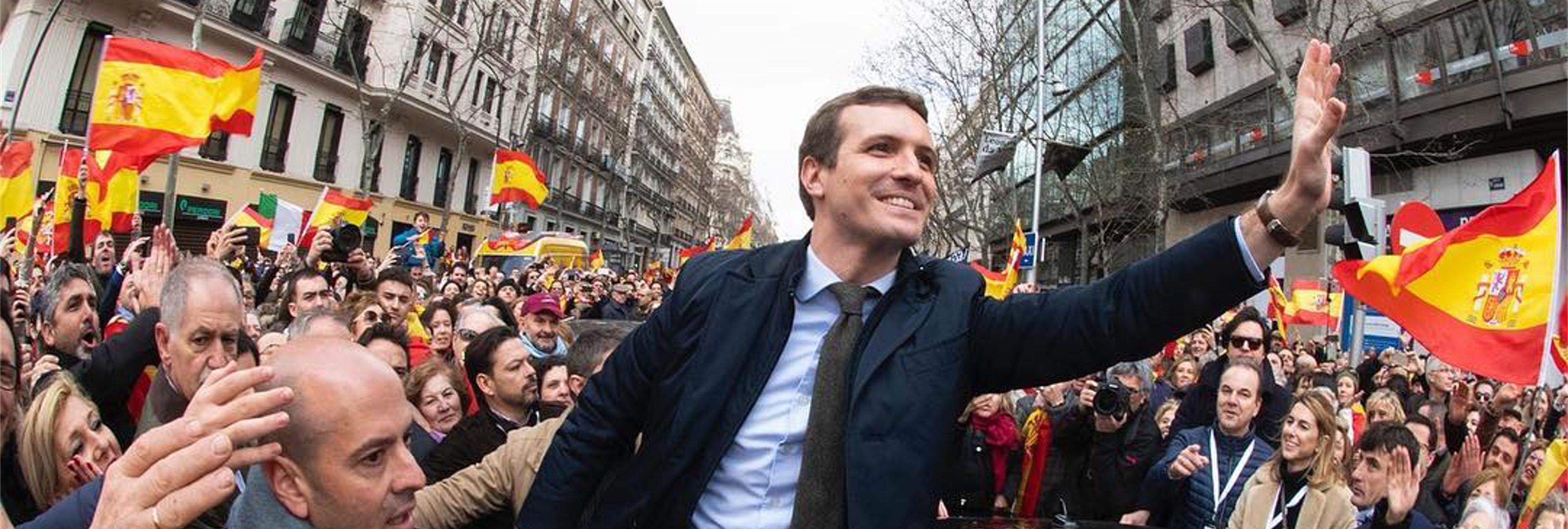 Pablo Casado avisa: habrá una larga lista de recortes sociales cuando llegue al Gobierno