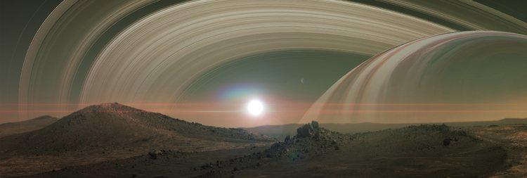 Resultado de imagen de Titan podría tener vida