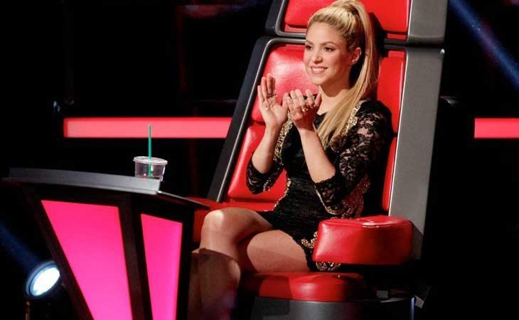 Shakira en 'The Voice'