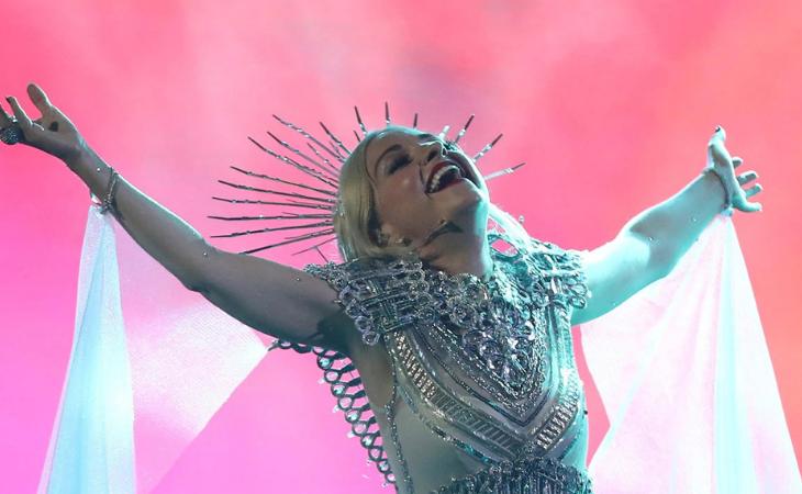 Kate Miller-Heidke en la preselección australiana para Eurovisión