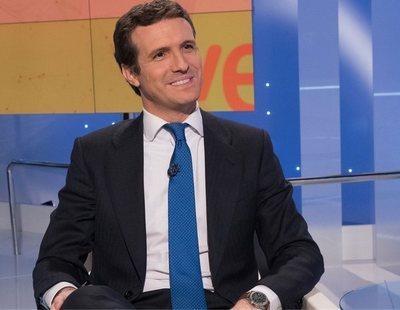Todas las mentiras que Pablo Casado pronunció en 30 minutos de entrevista en TVE