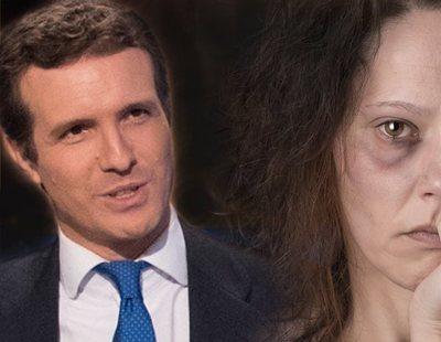 """""""Esa persona que no se porta bien con las mujeres"""": Pablo Casado suaviza a los maltratadores"""