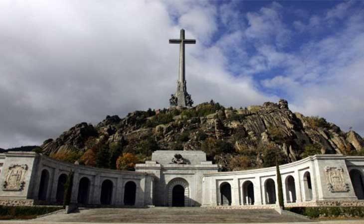 Valle de los Caídos donde se encuentra los restos de Franco