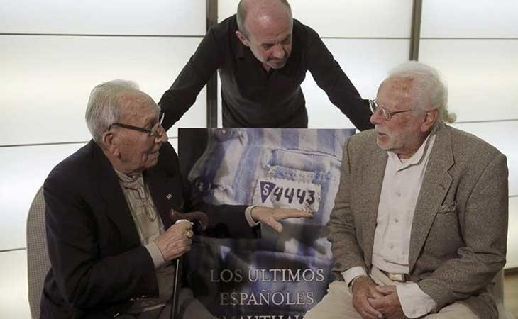 Dos de los supervivientes españoles del campo de concentración de Mauthausen