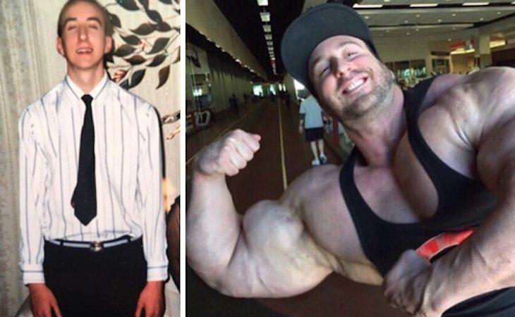 Craig Golias transformó por completo su aspecto físico