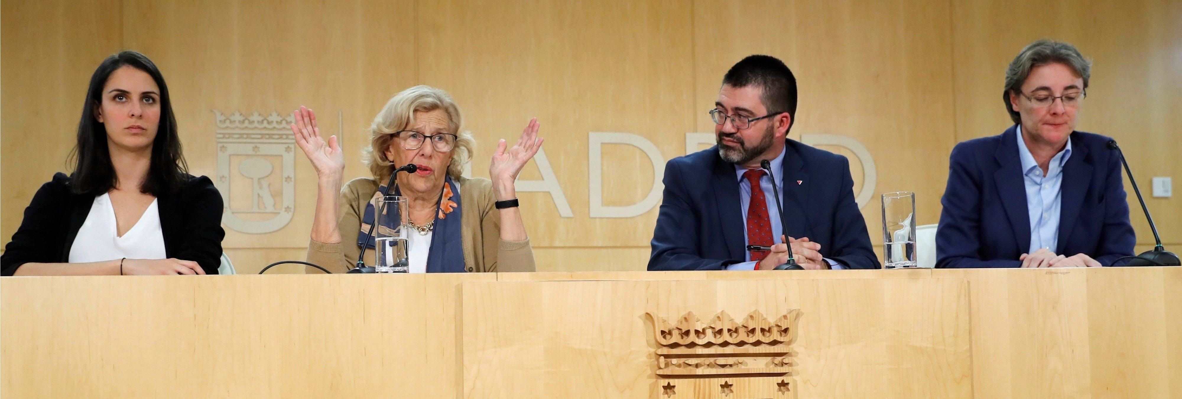 Carmena cerró 2018 con 728 millones menos de deuda y 1.072 millones de superávit