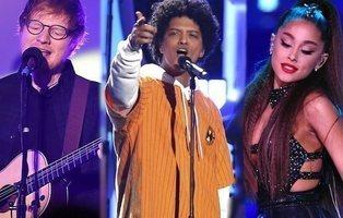 """Indonesia veta a Ariana Grande, Ed Sheeran y Bruno Mars por sus canciones """"pornográficas"""""""
