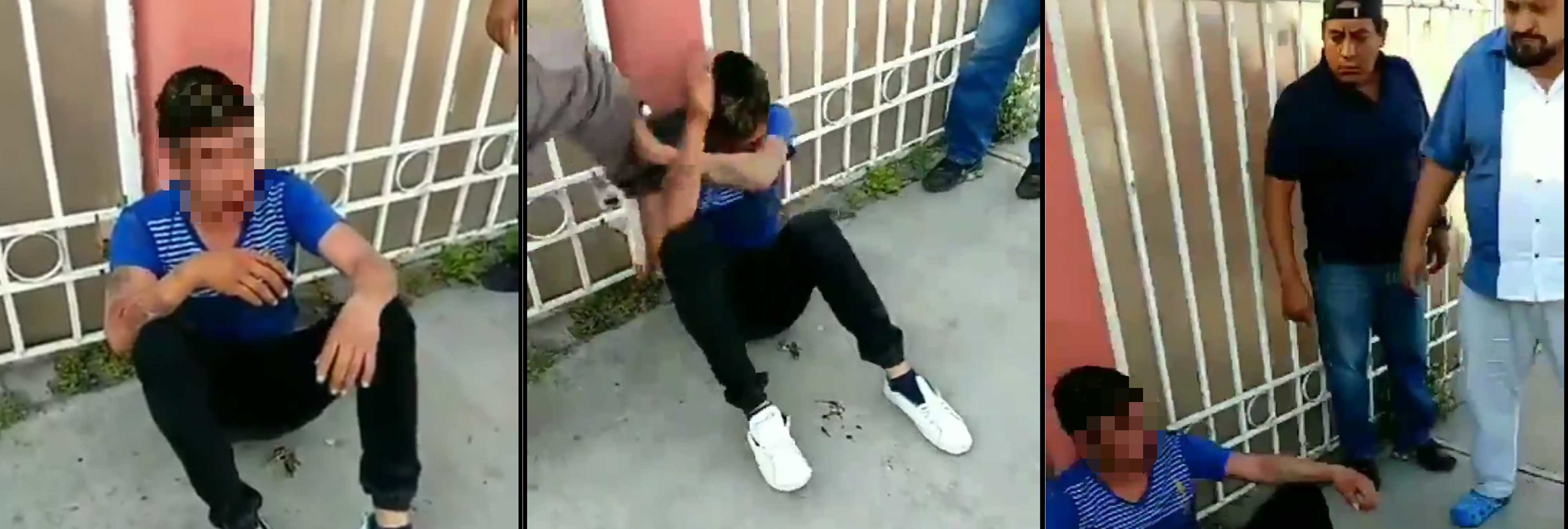 Vecinos se organizan en patrullas, toman la justicia por su mano y golpean a acosadores