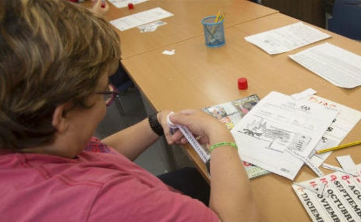 La asociación APSA realza distintos talleres para personas con discapacidad