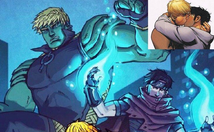 Hulkling & Wiccan, miembros de los Jóvenes Vengadores
