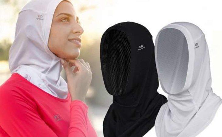 Los hijabs deportivos de Decathlon