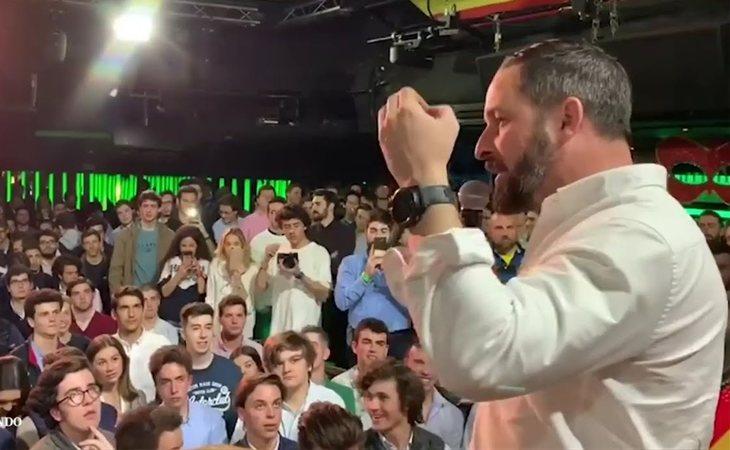 Santiago Abascal, DJ en 'Cañas por España'