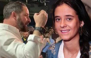 Victoria Federica, fan de VOX, asistió a la españolísima fiesta del Teatro Barceló