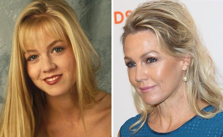 Jennie Garth fue Kelly Taylor en 'Sensación de vivir'