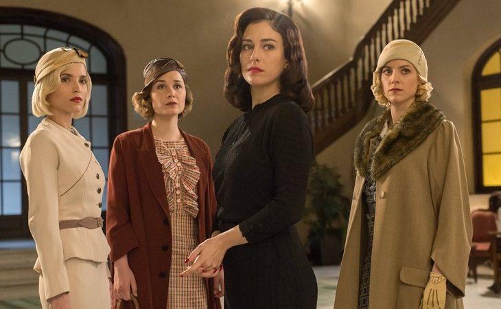 Protagonistas de 'Las chicas del cable'