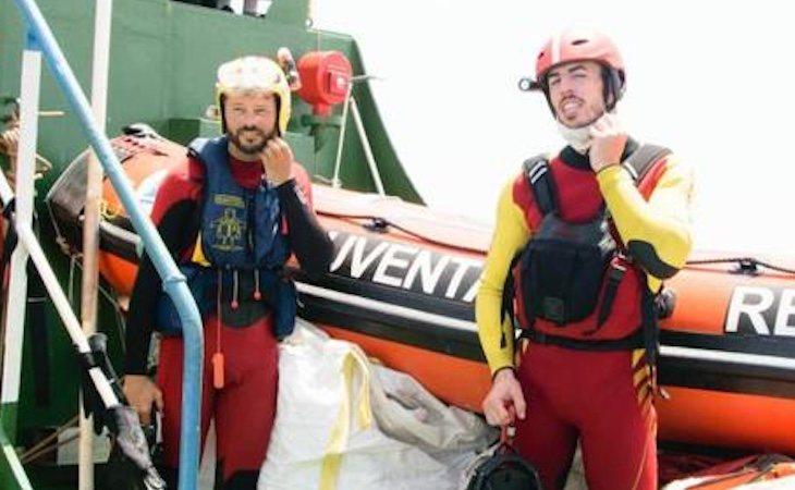 Miguel Roldán se enfrenta a 20 años de cárcel por rescatar a las personas que caían al mar