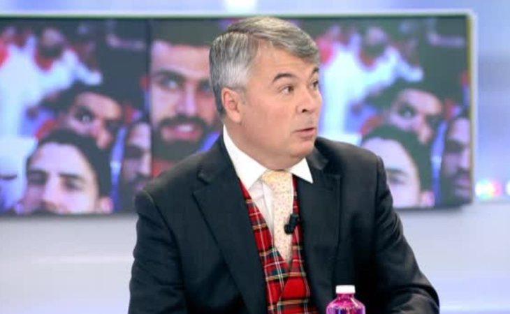 Agustín Martínez Becerra, abogado de 'La Manada', durante una de sus apariciones televisivas