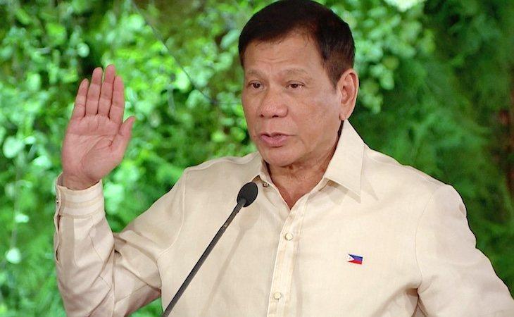 El polémico presidente de Filipinas, Rodrigo Duterte