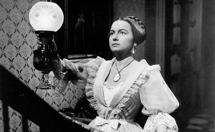 Olivia de Havilland en 'La heredera'