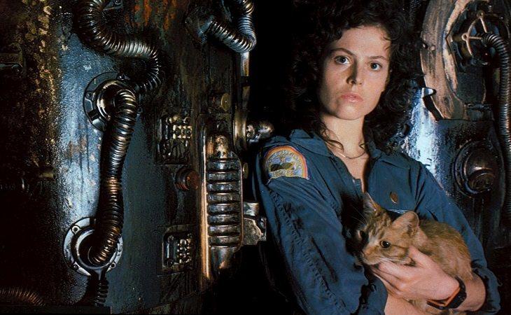 Sigourney Weaver en 'Alien, el octavo pasajero