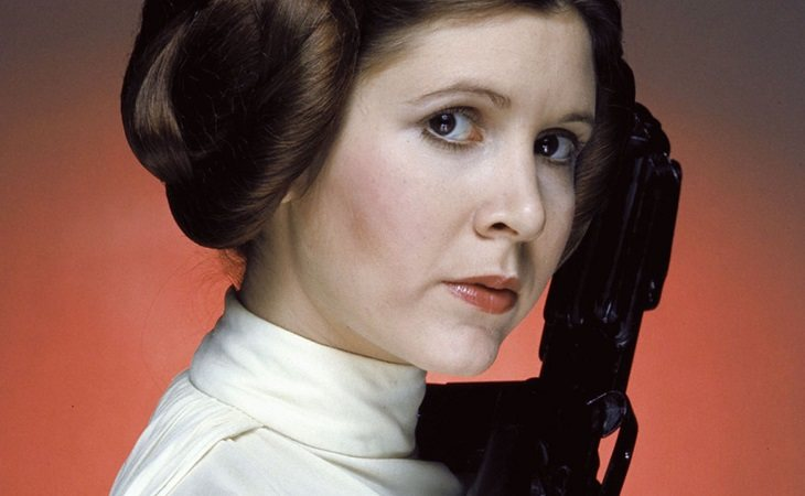 Carrie Fisher como Leia