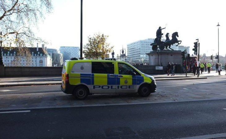 La policía británica en Londres
