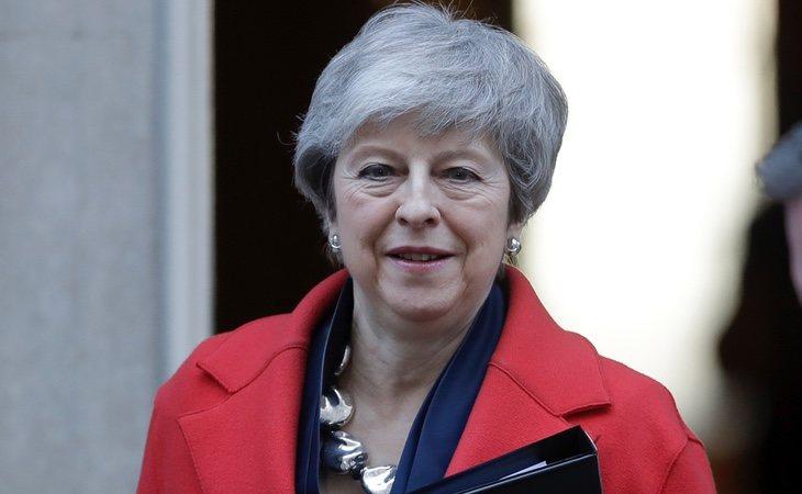 La primera ministra Theresa May