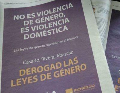 El Mundo, ABC y La Razón acogen publicidad machista de Hazte Oír