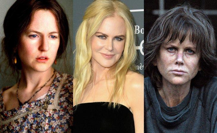 Nicole Kidman en 'Las horas' y en 'Destroyer'