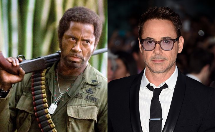 Robert Downey Jr. en 'Tropic Thunder'