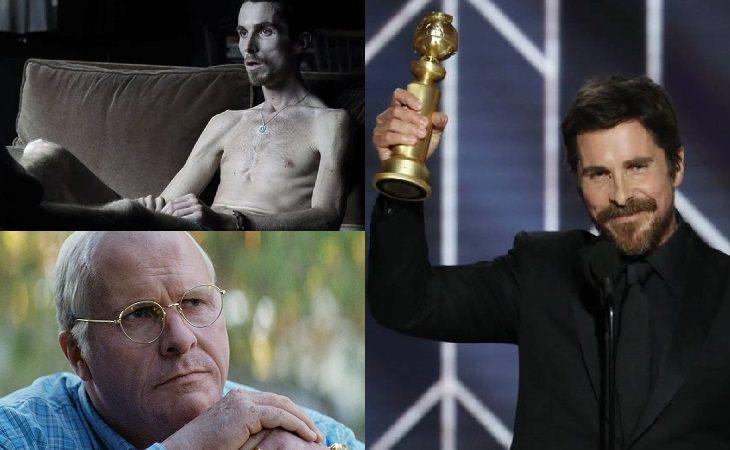 Christian Bale en 'El maquinista' y 'El vicio del poder'
