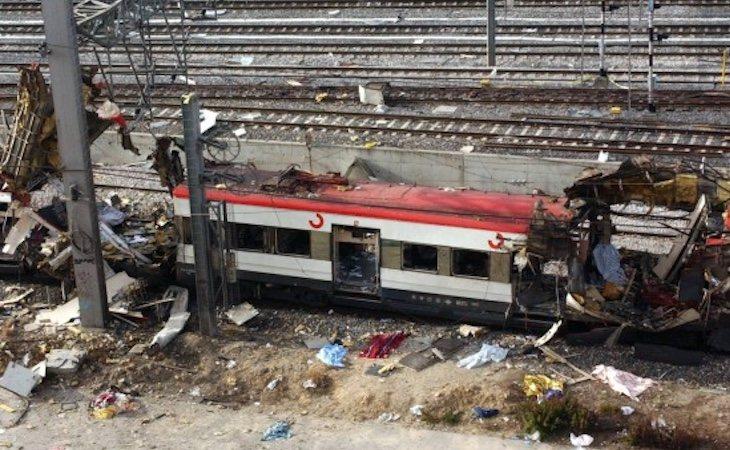 Imagen de archivo del estado en que quedó uno de los vagones de la estación de Atocha tras el 11 M