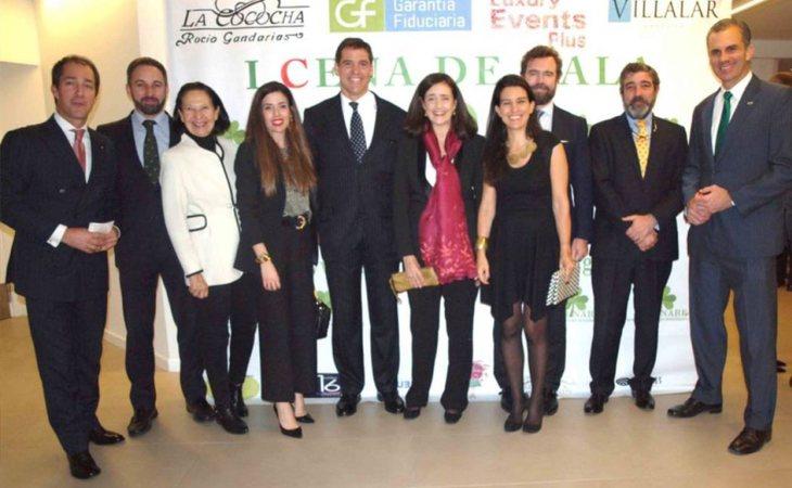La cúpula de VOX, junto a Alfonso de Borbón, en la gala inaugural de la asociación ultracatólica Cura Infirmorum et Natura-Seminare